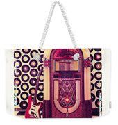 Juke Box Polaroid Transfer Weekender Tote Bag