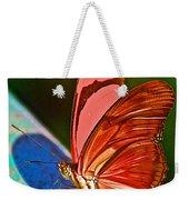 Julia Heliconian Butterfly In Iguazu Falls National Park-brazil Weekender Tote Bag