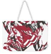 Julio Jones Atlanta Falcons Pixel Art 11 Weekender Tote Bag