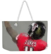 Julio Jones Weekender Tote Bag