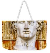 Julius Caesar At Vatican Museums 2 Weekender Tote Bag by Stefano Senise