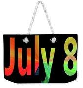July 8 Weekender Tote Bag