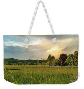 Sunset After Storm Weekender Tote Bag