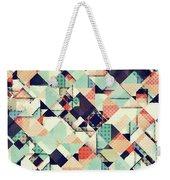 Jumble Of Colors And Texture Weekender Tote Bag