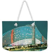 Jumeirah Beach Hotel Weekender Tote Bag
