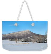Jump Mountain Weekender Tote Bag