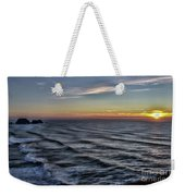 Jumping Off Place Weekender Tote Bag