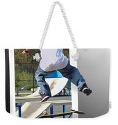Jumping Out Of The Picture Weekender Tote Bag
