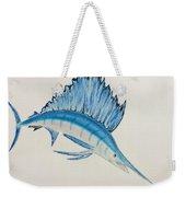 Jumping Swordfish  Weekender Tote Bag