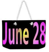 June 28 Weekender Tote Bag