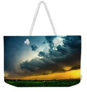 June Comes In With A Boom 012 Weekender Tote Bag