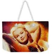 June Haver, Vintage Hollywood Actress Weekender Tote Bag