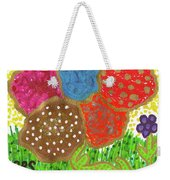 June Is Bloomin' Weekender Tote Bag