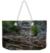 June Morning At Awosting Falls Weekender Tote Bag