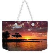 June Sunset At Detroit Point Weekender Tote Bag