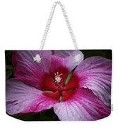 Junes Hibiscus 1 Weekender Tote Bag