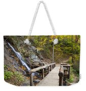 Juney Whank Falls And A Place To Rest Weekender Tote Bag