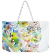 Jung - Watercolor Portrait.4 Weekender Tote Bag