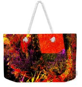 Jungle At The Corner Of Concha And Laconia Weekender Tote Bag by Eikoni Images