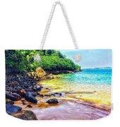 Jungle Beach Weekender Tote Bag