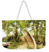 Jungle Canoe Weekender Tote Bag