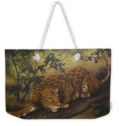 Jungle Cat Weekender Tote Bag