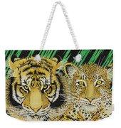 Jungle Cats Weekender Tote Bag