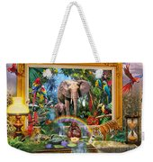 Jungle Coming Weekender Tote Bag
