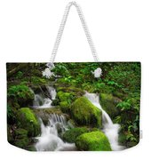 Jungle Falls Weekender Tote Bag