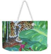 Jungle Jaguar Weekender Tote Bag