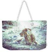 Jungle King Weekender Tote Bag