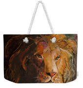 Jungle Lion Weekender Tote Bag