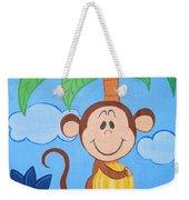Jungle Monkey Weekender Tote Bag