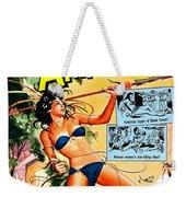 Jungle Movie Poster 1957 Weekender Tote Bag