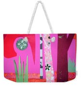 Jungle Temple Weekender Tote Bag