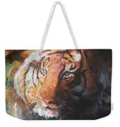 Jungle Tiger Weekender Tote Bag