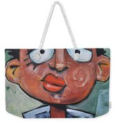 Junior Artist Sans Crayon Hair Weekender Tote Bag