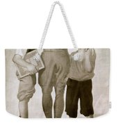 Junior Red Cross Poster Weekender Tote Bag