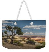 Juniper Tree On A Mesa Weekender Tote Bag