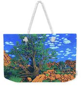 Juniper Trees And Deer Weekender Tote Bag