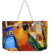 Junk Food Junkie Caught Weekender Tote Bag