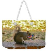 Junk Food Squirrel Weekender Tote Bag