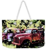 Junked Fire Engines Weekender Tote Bag