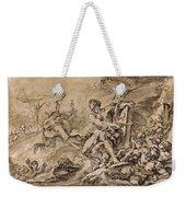 Juno Asking Aeolus To Release The Winds Weekender Tote Bag