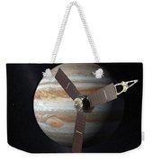 Juno Mission To Jupiter Weekender Tote Bag