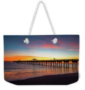 Juno Pier Colorful Sunrise Weekender Tote Bag