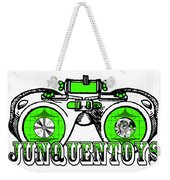 Junquentoys Test Pattern Goggles Weekender Tote Bag