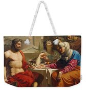 Jupiter And Mercury At Philemon And Baucis Weekender Tote Bag