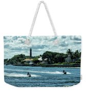 Jupiter Inlet And Lighthouse Weekender Tote Bag