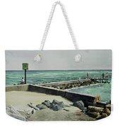 Jupiter Inlet Marine Marker One  Weekender Tote Bag